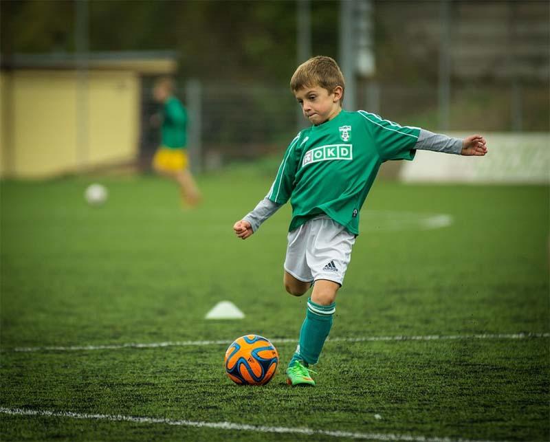 Pokój dla małego piłkarza