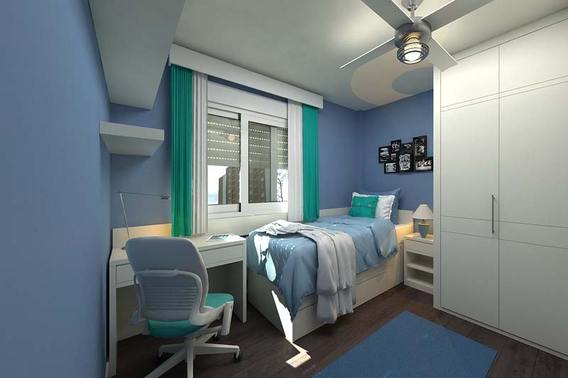 Sypialnia – do spania i do pracy